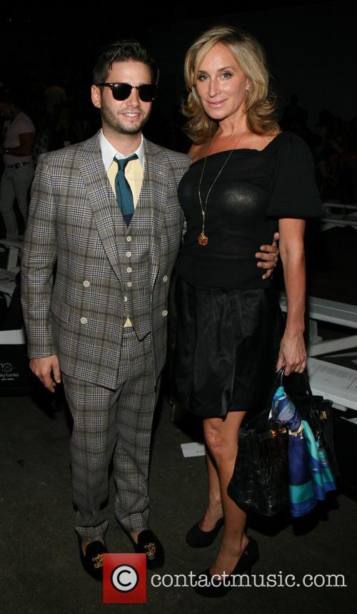 Josh Flagg and Sonja Morgan 2