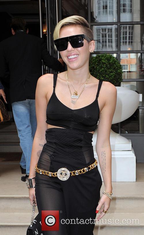 Miley Cyrus Black