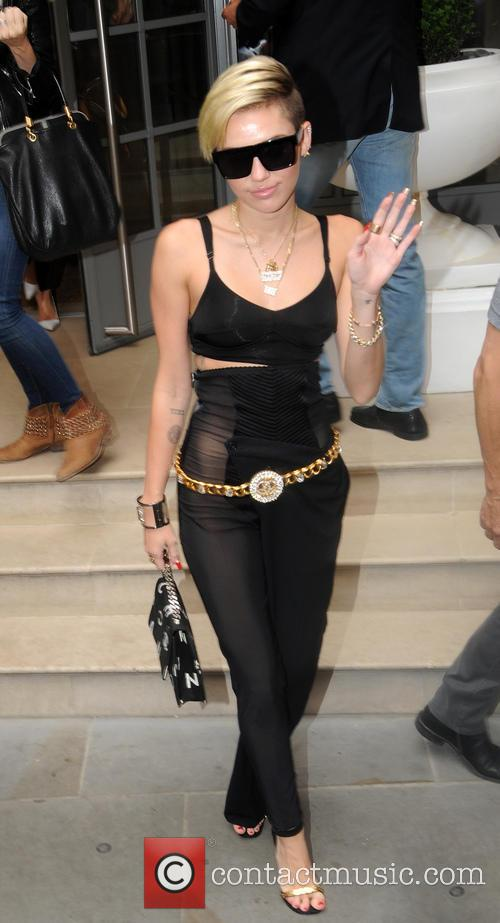 Miley Cyrus Black Jumpsuit