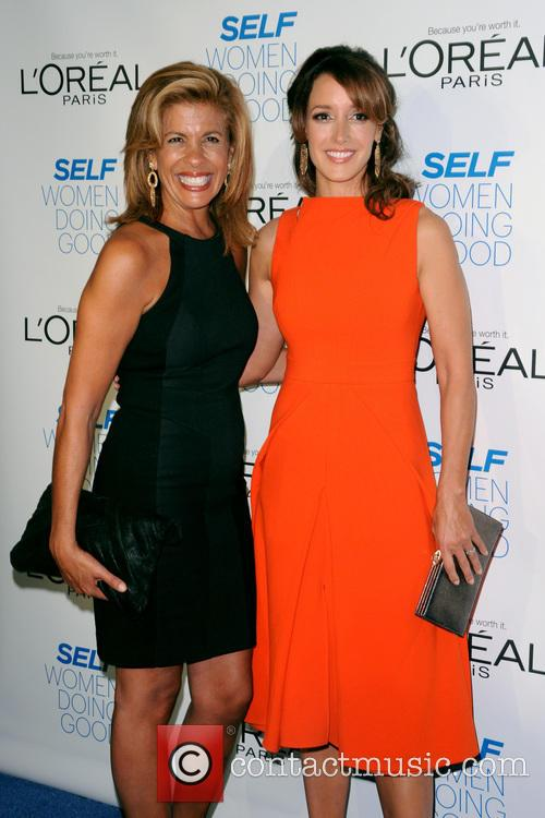Hoda Kotb and Jennifer Beals 4