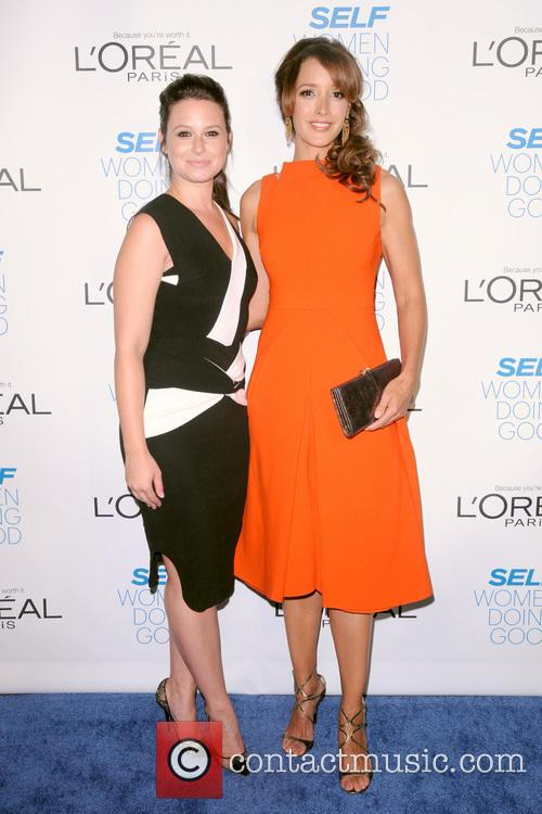 Katie Lowes and Jennifer Beals 2