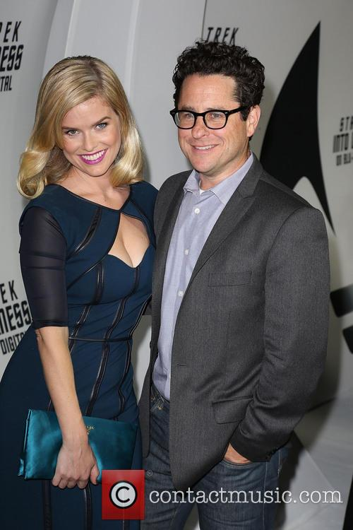 Alice Eve and J.j. Abrams 2