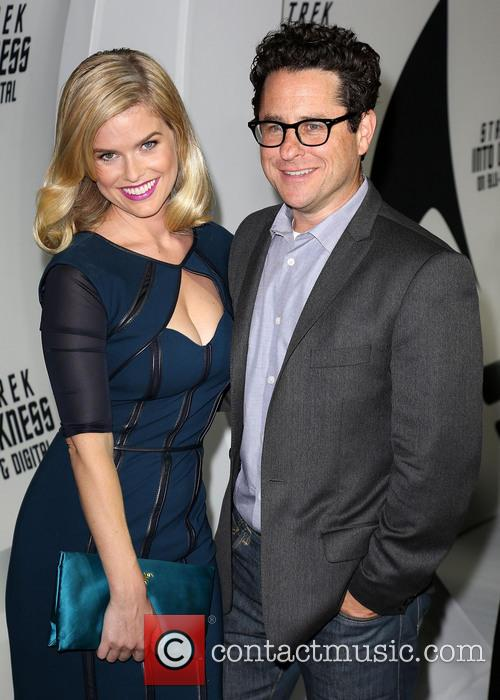 Alice Eve and J.j. Abrams 3