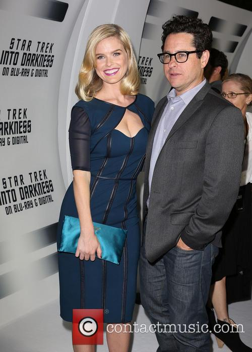 Alice Eve and J.j. Abrams 8