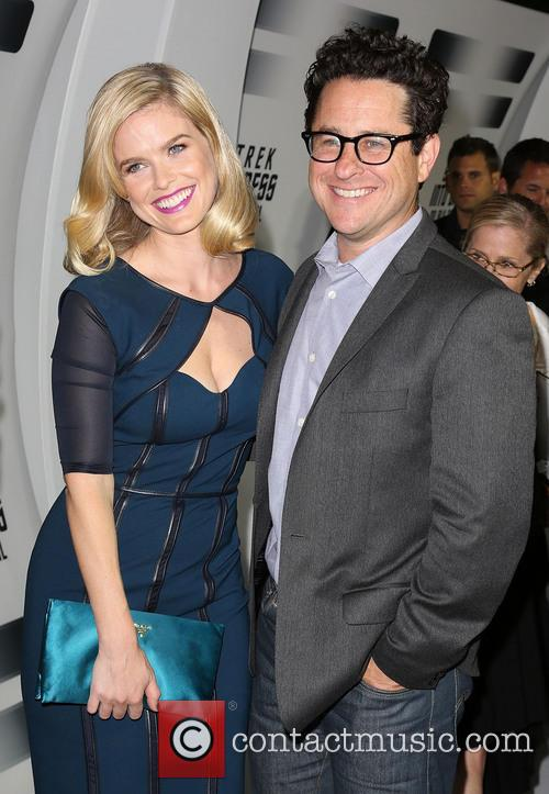Alice Eve and J.j. Abrams 9