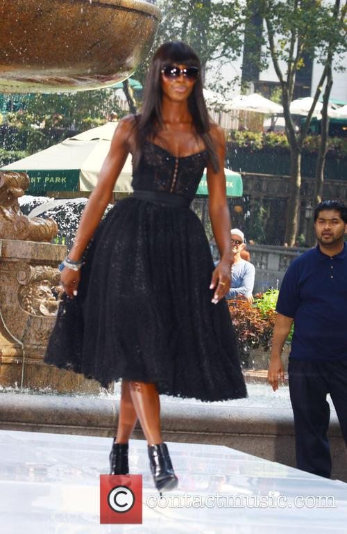 Naomi Campbell, Bryant Park