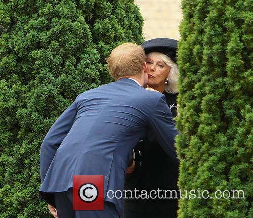 Prince Harry and Camilla Duchess Of Cornwall 1