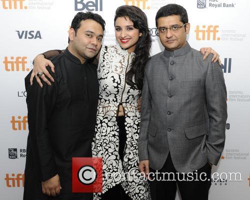 Maneesh Sharma, Parineeti Chopra and Jaideep Sahni 1