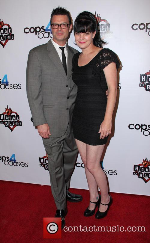 Pauley Perrette and Thomas Arklie 2