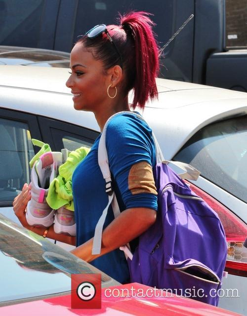 Christina Milian, Dancing With The Stars Rehearsal Studios