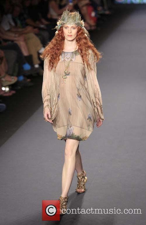 Karen Elson, Theatre Lincoln Center, New York Fashion Week