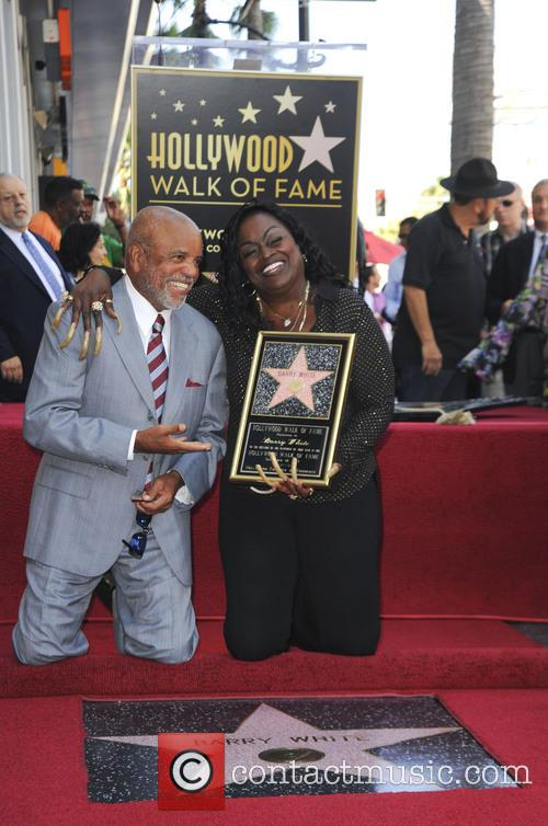 Berry Gordy and Glodean White 2