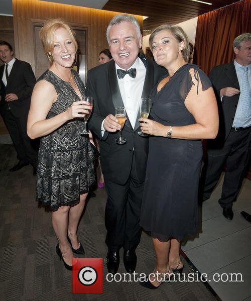 Sarah-jane Mee, Eamonn Holmes and Clare Tomlinson 6