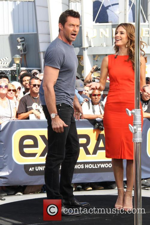 Hugh Jackman and Maria Menounos 7