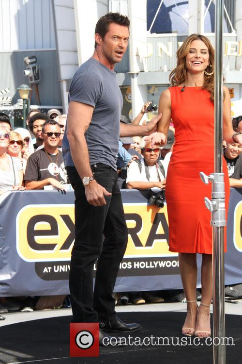 Hugh Jackman and Maria Menounos 11