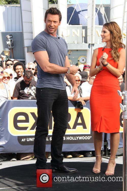 Hugh Jackman and Maria Menounos 5