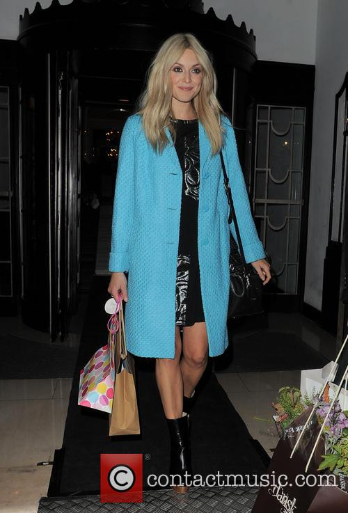 Fearne Cotton leaving Claridges