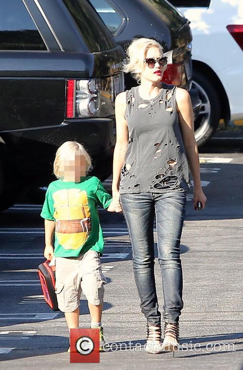 Gwen Stefani and Zuma 5