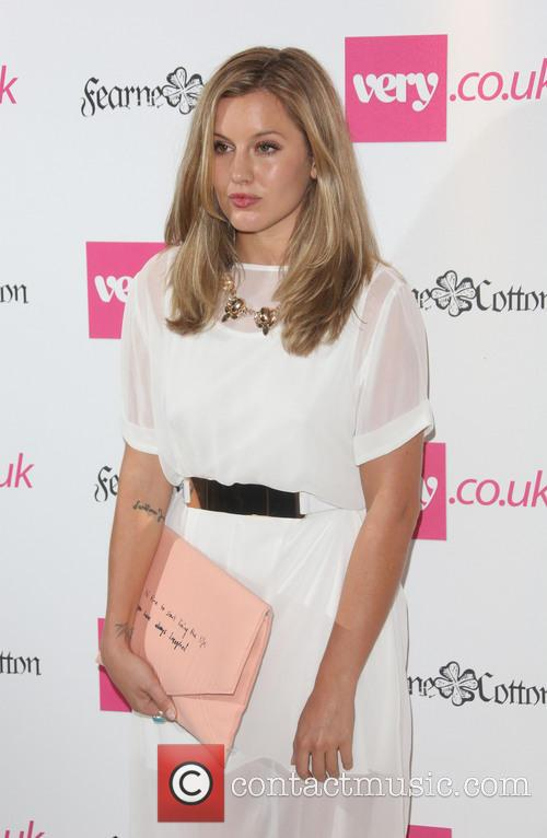 Fearne Cotton, Caggie Dunlop, London Fashion Week
