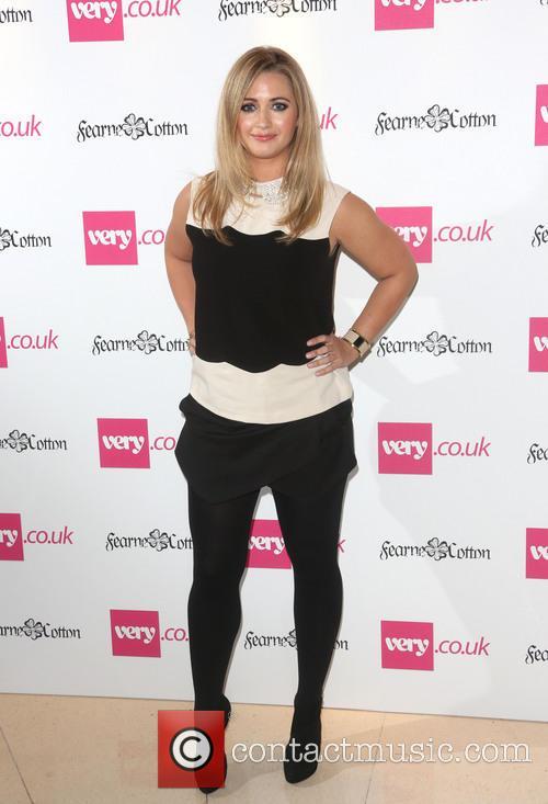 Fearne Cotton, Hayley McQueen, London Fashion Week