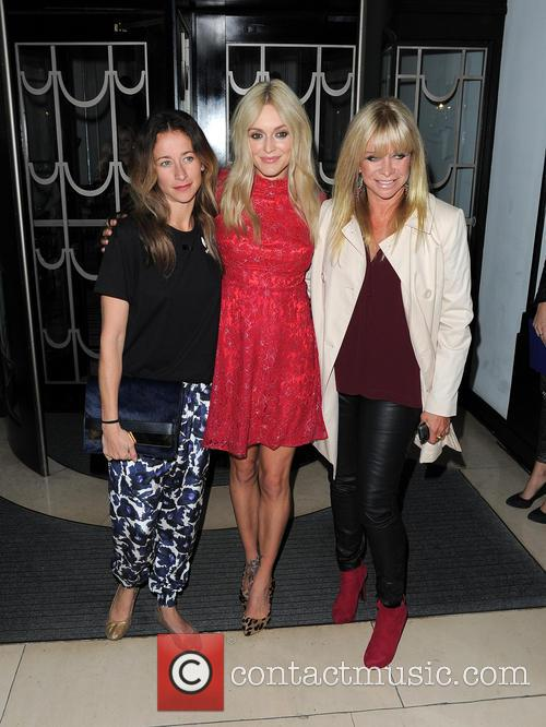 Leah Wood, Fearne Cotton and Jo Wood 1