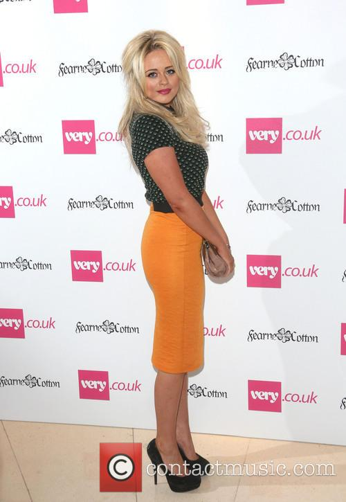 Emily Atack, London Fashion Week