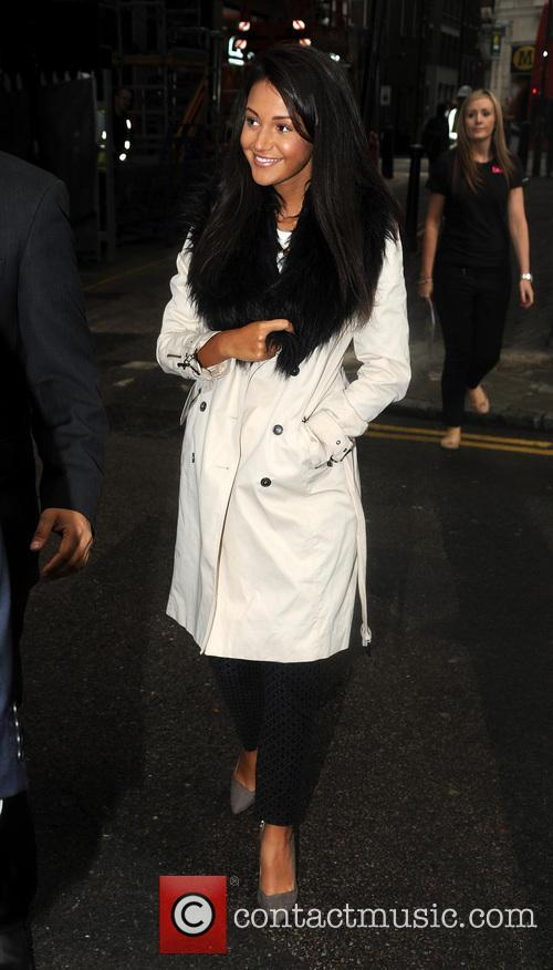 Michelle Keegan spotted in London