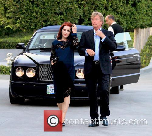 Priscilla Presley and Nigel Lythgoe 1