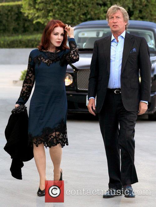 Priscilla Presley and Nigel Lythgoe 2
