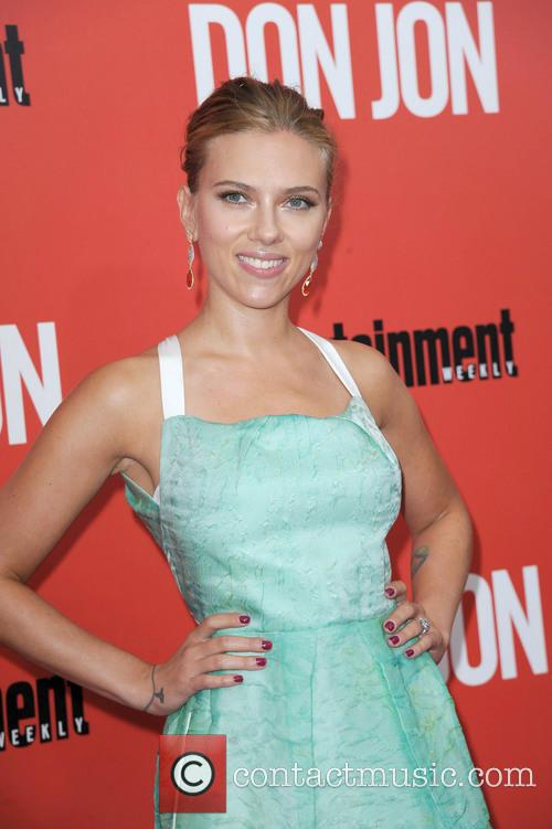 Scarlett at the premiere of Don Jon in New York