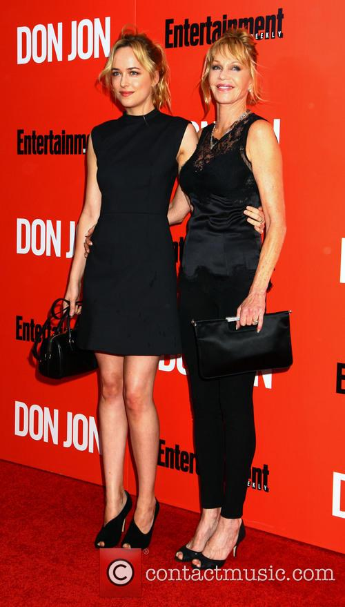 Dakota Johnson and Melanie Griffith 10