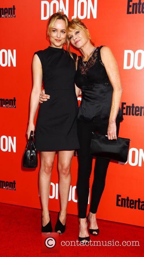 Dakota Johnson and Melanie Griffiths