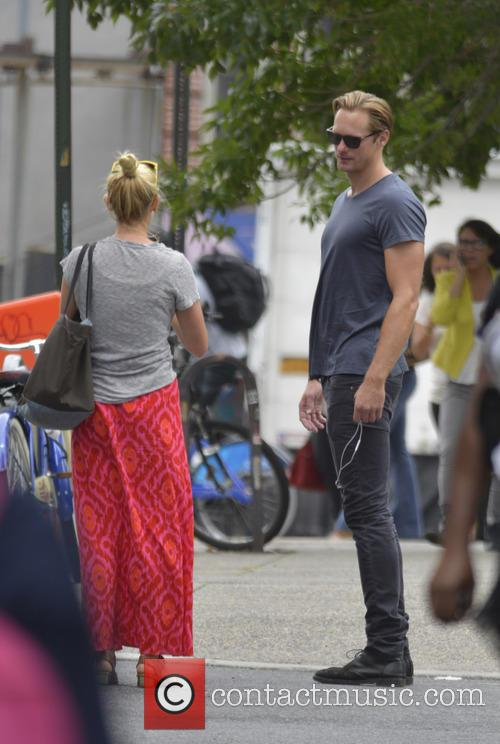 Alexander Skarsgard out and about