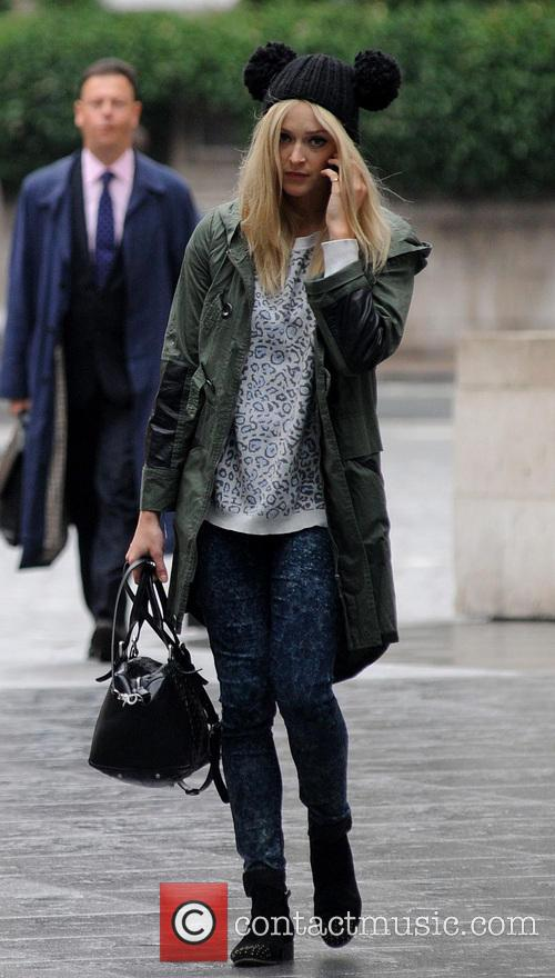 Fearne Cotton pictured arriving at Radio 1