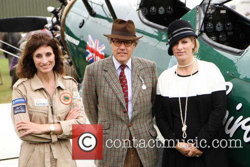 Zara Phillips, Lord March and Tracey Curtis Talyor 2