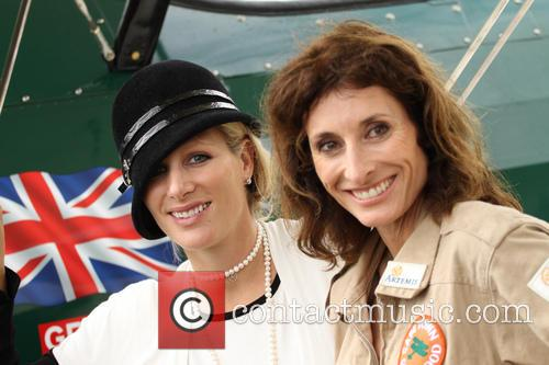 Zara Phillips and Tracey Curtis Talyor 3
