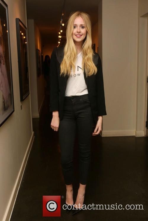 diana vickers london fashion week ss14  3865386