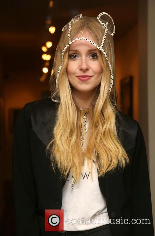 diana vickers london fashion week ss14  3865397