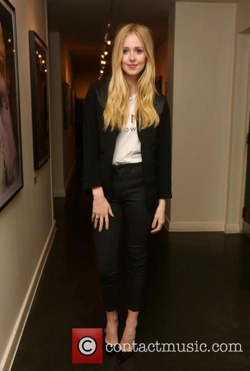 diana vickers london fashion week ss14  3865398