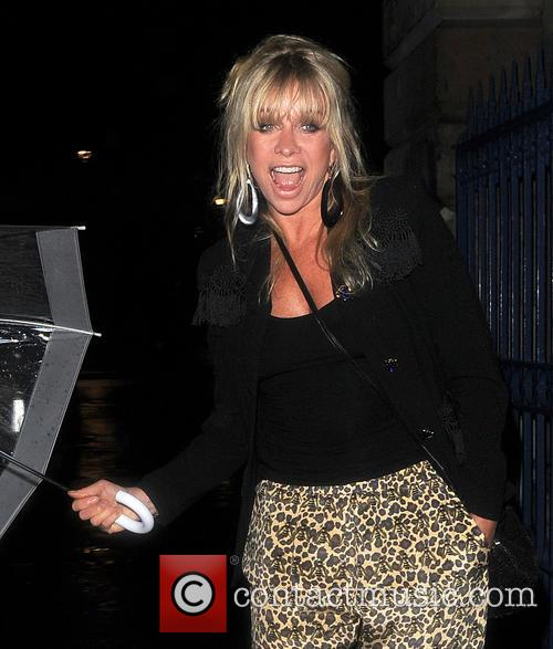 Jo Wood, London Fashion Week