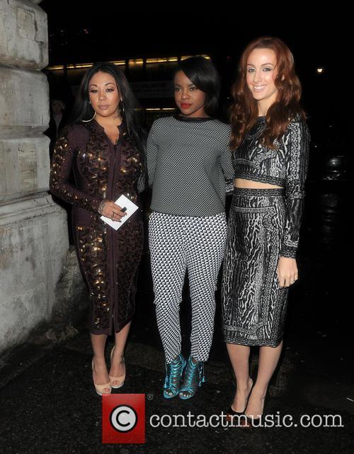 Sugababes, Siobhan Donaghy, Mutya Buena and Keisha Buchanan 2