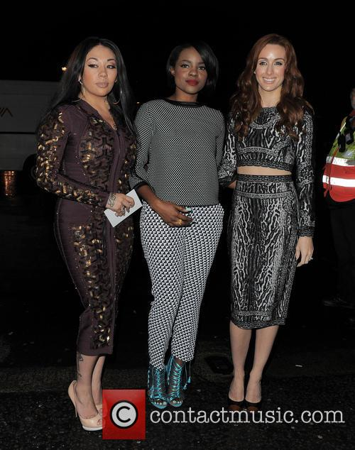Sugababes, Siobhan Donaghy, Mutya Buena and Keisha Buchanan 3