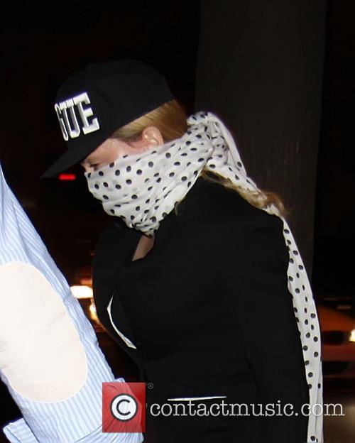 Madonna and her children attend Yom Kippur services in Manhattan