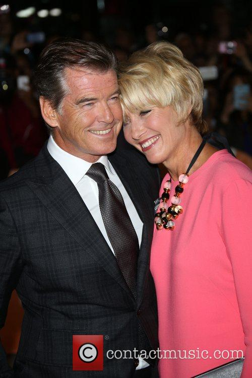 Emma Thompson and Pierce Brosnan 6