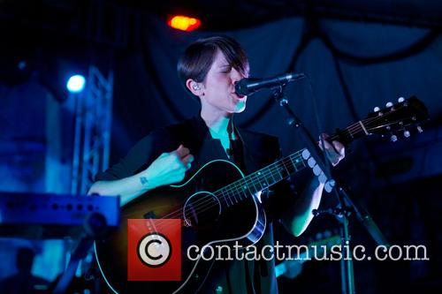 Tegan and Sara performing at Stubbs
