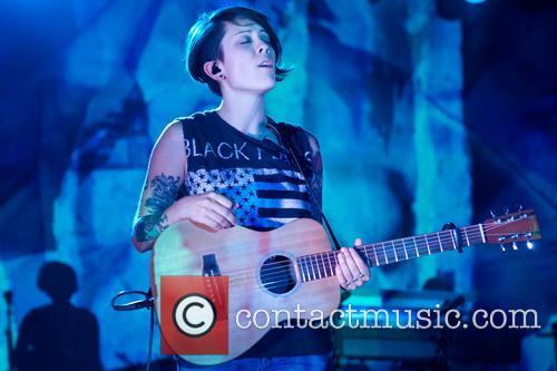 Tegan and Sara performing at Stubbs