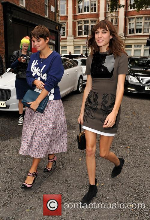Pixie Geldof and Alexa Chung 2