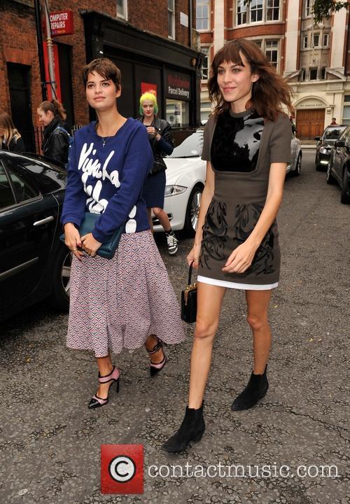 Pixie Geldof and Alexa Chung 3