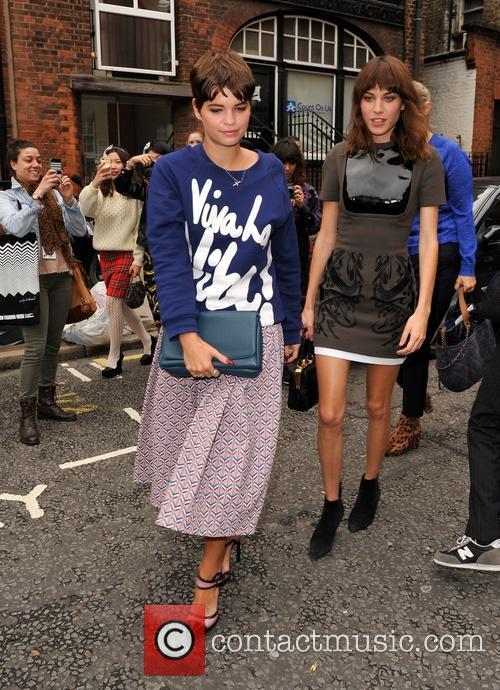 Pixie Geldof and Alexa Chung 11