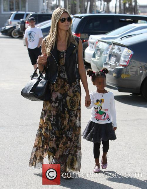 heidi klum heidi klum and family going 3866455